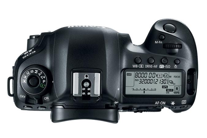 Canon EOS 5D MarkIV top