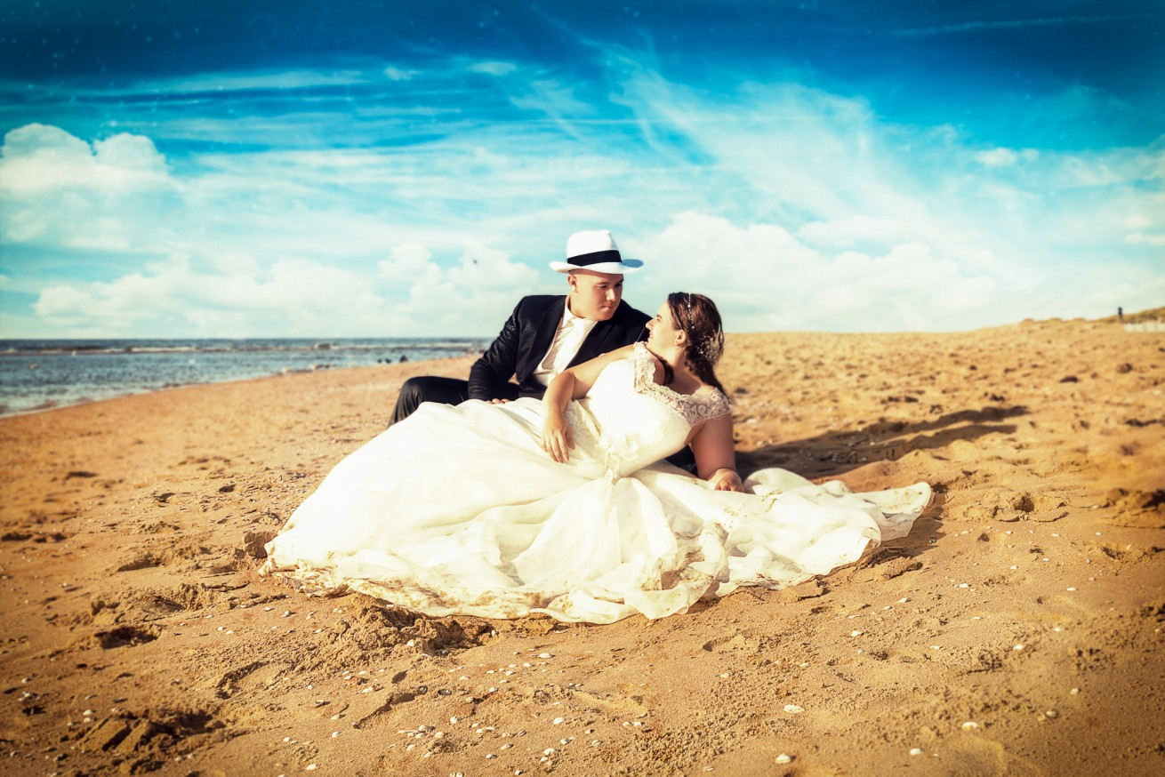 Trash the Dress met Denise en Sander - 1